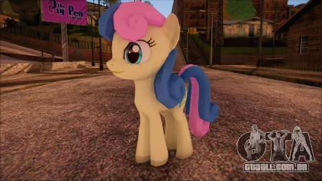 BonBon from My Little Pony para GTA San Andreas
