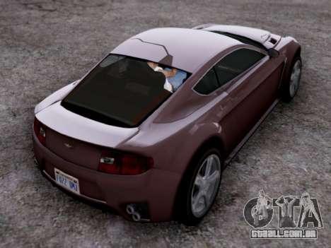 Dewbauchee Rapid GT para GTA San Andreas esquerda vista
