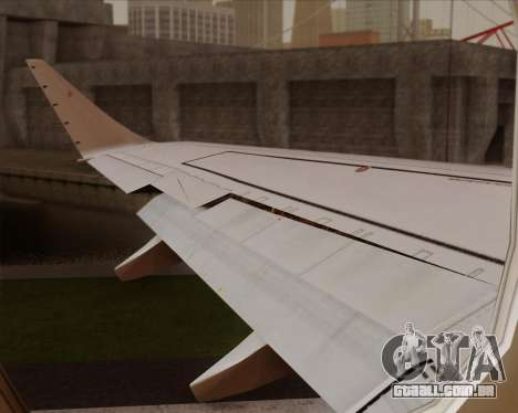 Embraer E-190 Air Canada para GTA San Andreas