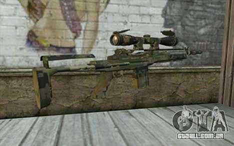 M14 EBR Digiwood para GTA San Andreas segunda tela
