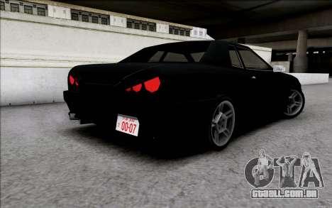 Japan Elegy para GTA San Andreas esquerda vista