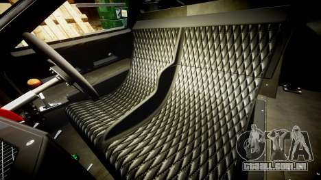 Ford GT40 Mark IV 1967 PJ Fernando Pedace 6 para GTA 4 vista interior