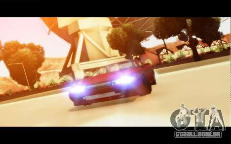 Elegy By Next para GTA San Andreas esquerda vista