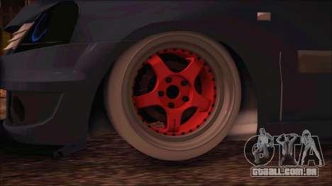 Dacia Logan MCV Tuning para GTA San Andreas traseira esquerda vista
