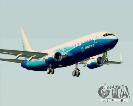 Boeing 737-800 House Colors para GTA San Andreas