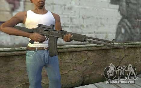 AK-107 de ARMA2 para GTA San Andreas terceira tela