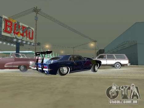 Chevrolet Camaro SS RedBull para GTA San Andreas esquerda vista