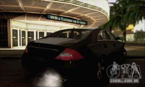 Mercedes-Benz CLS 500 para GTA San Andreas esquerda vista