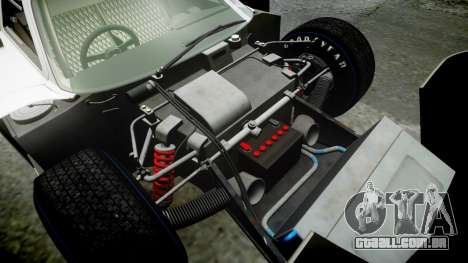Ford GT40 Mark IV 1967 PJ 3 para GTA 4 vista superior