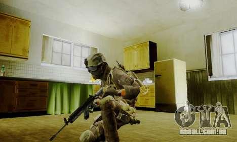 Spec Ops para GTA San Andreas por diante tela