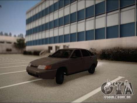 VAZ 2112 para GTA San Andreas esquerda vista