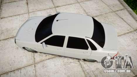 ВАЗ-2170 de alta qualidade para GTA 4 vista direita