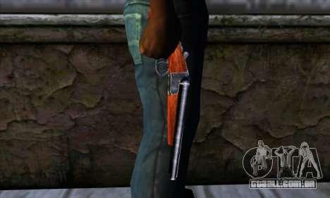 Sawnoff Shotgun para GTA San Andreas terceira tela