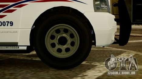 Dundreary Landstalker [ELS] para GTA 4 traseira esquerda vista