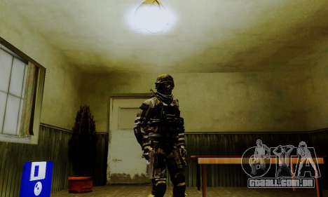 Spec Ops para GTA San Andreas terceira tela