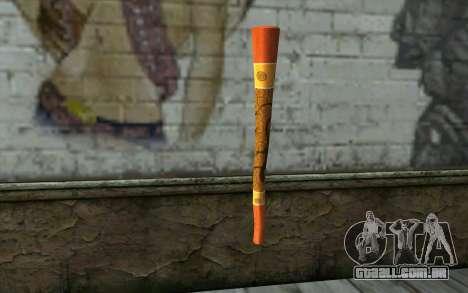 Flauta para GTA San Andreas segunda tela