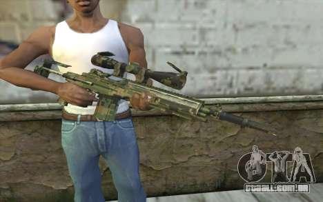 M14 EBR Digiwood para GTA San Andreas terceira tela