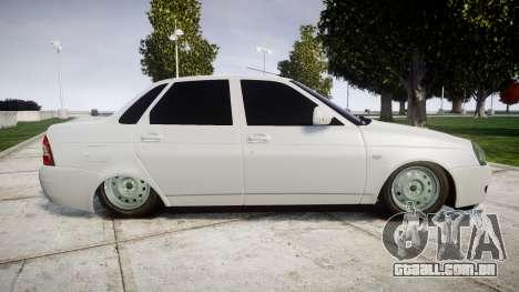 ВАЗ-2170 de alta qualidade para GTA 4 esquerda vista