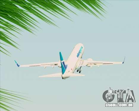 Boeing 737-800 WestJet Airlines para GTA San Andreas