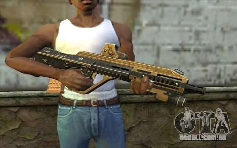 AUG A3 from PointBlank v7 para GTA San Andreas terceira tela