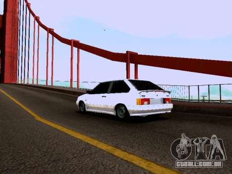 VAZ 2113 para GTA San Andreas esquerda vista
