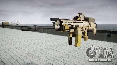 Máquina FN SCAR-L Mc 16 de destino icon3 para GTA 4