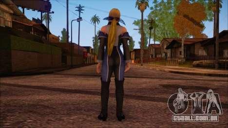 Modern Woman Skin 3 v2 para GTA San Andreas segunda tela