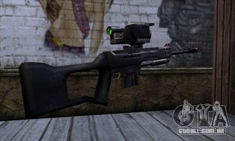 Sniper rifle (C&C Renegade) para GTA San Andreas segunda tela