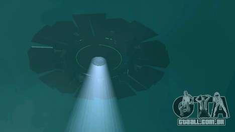 UFO sobre San Andreas para GTA San Andreas twelth tela