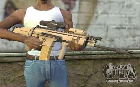 MK16 MK4CQ-T para GTA San Andreas terceira tela