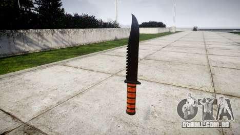 Luta de faca Ka-Bar para GTA 4 segundo screenshot