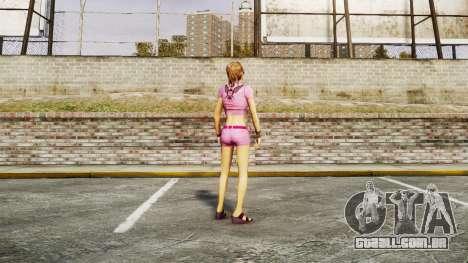 Menina do FBI para GTA 4 sexto tela