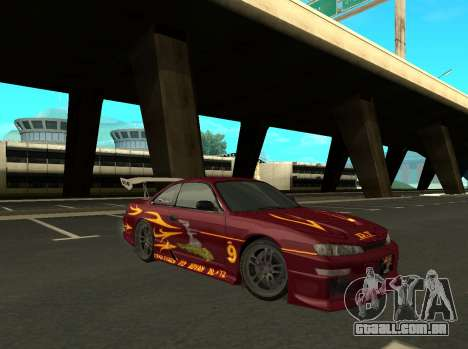 Nissan 200SX FnF1 (Letty car) para GTA San Andreas