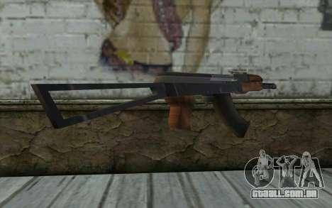 AK47 do Hitman 2 para GTA San Andreas terceira tela