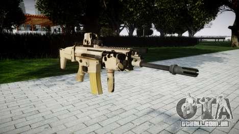 Máquina FN SCAR-L Mc 16 de destino icon2 para GTA 4