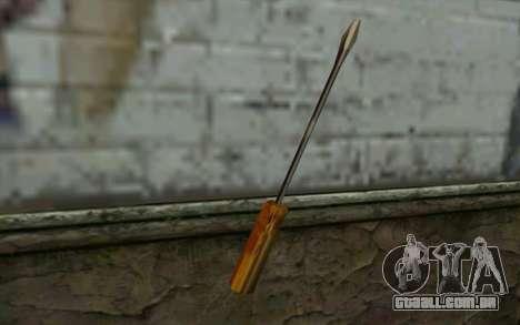 Chave de fenda (GTA Vice City) para GTA San Andreas segunda tela