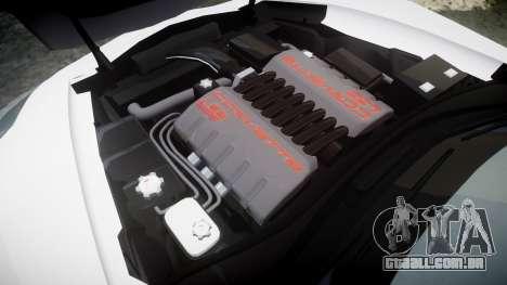 Chevrolet Corvette Z06 2015 TireBr3 para GTA 4 vista lateral