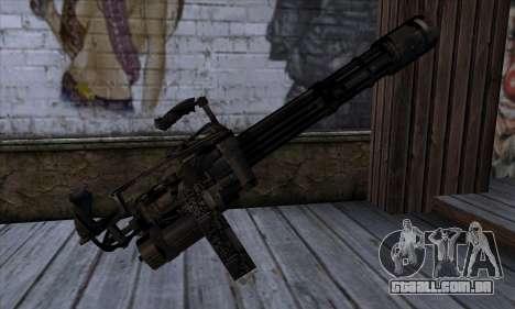 Gun Volcano v1 para GTA San Andreas segunda tela