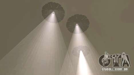 UFO sobre San Andreas para GTA San Andreas por diante tela