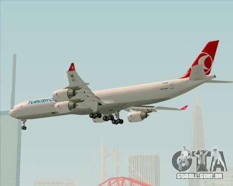Airbus A340-600 Turkish Cargo para GTA San Andreas