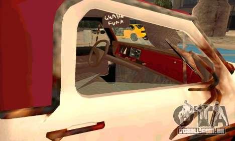 Ford PickUp Rusted para GTA San Andreas vista interior