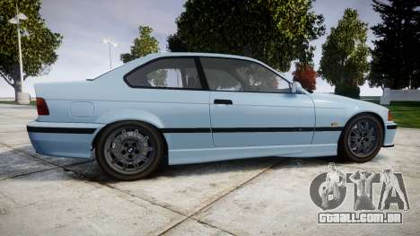 BMW M3 E36 para GTA 4 esquerda vista