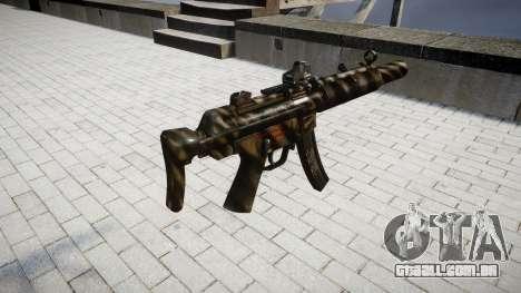 Arma MP5SD DRS CS para GTA 4 segundo screenshot