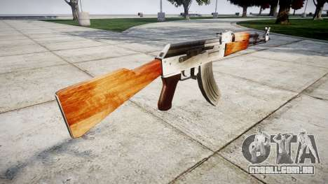 A AK-47 HD para GTA 4 segundo screenshot