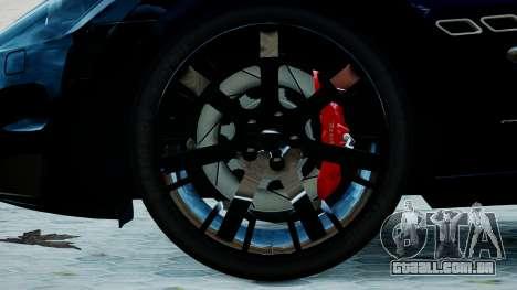 Maserati Granturismo 2012 para GTA 4 traseira esquerda vista