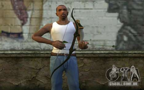 Green Arrow Bow v3 para GTA San Andreas terceira tela