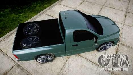 Dodge Ram para GTA 4 vista direita