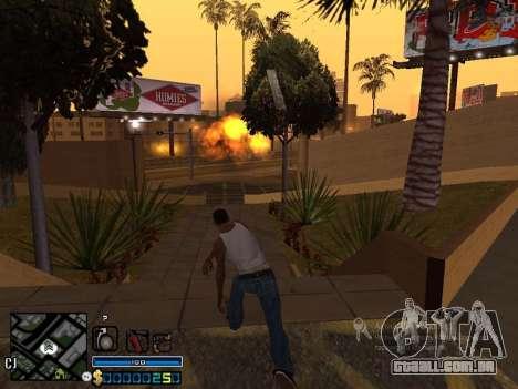 CLEO-HUD para GTA San Andreas