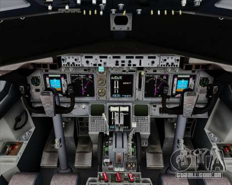 Boeing 737-800 House Colors para GTA San Andreas interior
