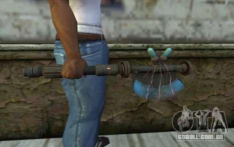 ProtonAxe From Fallout New Vegas para GTA San Andreas terceira tela